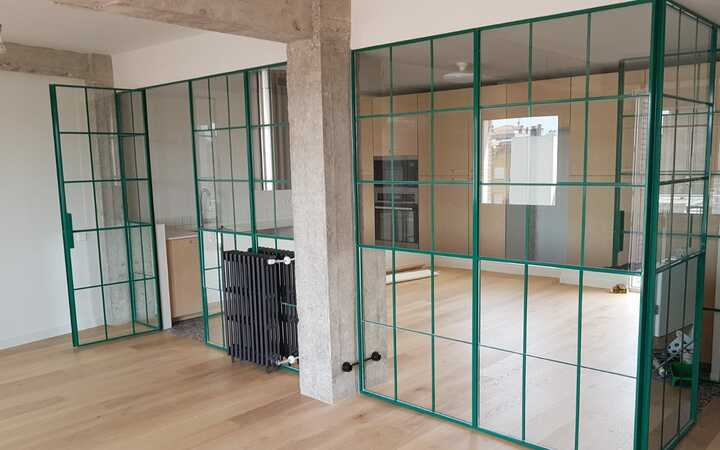 Reforma piso Madrid salón cocina